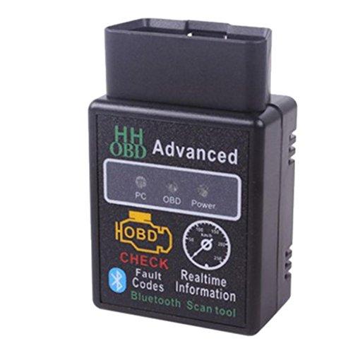 MonkeyJack OBD2 Fault Alarm Indicator Code Reader Bluetooth Engine Diagnostic Scanner High Performance