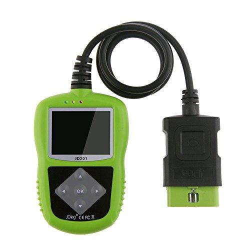 JD201 OBD2 Code Reader Scan for OBDIIEOBDCAN Cars Automotive Scanner OBD Diagnostic Tool