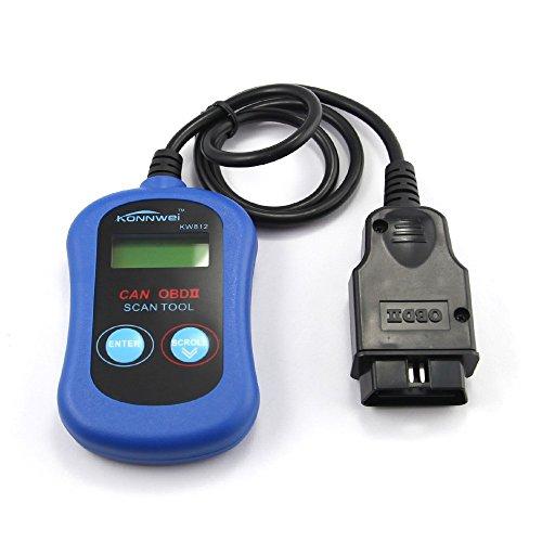 LHZTECH KONNWEI KW812 VAG305 OBD2 OBDII LCD Auto Diagnostic Scanner Tool Car Engine Fault Code Reader