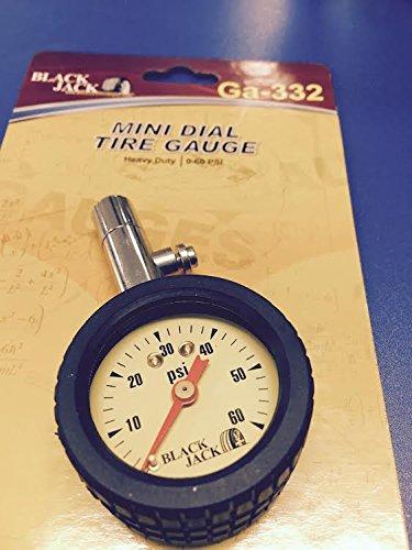 Blackjack Dial Tire Gauge 0-60 LBS