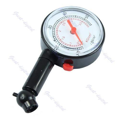 Car Motor Dial Tire Gauge Meter Pressure Tyre Measureement Tool