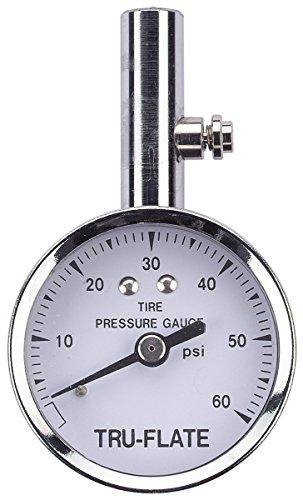 Tru-Flate 17-551 3-60 PSI Dial Tire Gauge