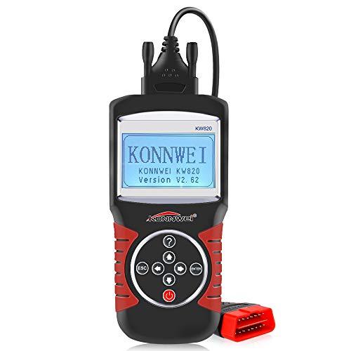 KONNWEI KW820 OBD2 OBDII EOBD Car Scanner Diagnostic Tool Auto Engine Fault Code Reader