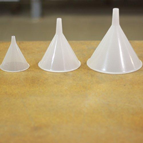 Fibre Glast Plastic Funnels - 4 oz