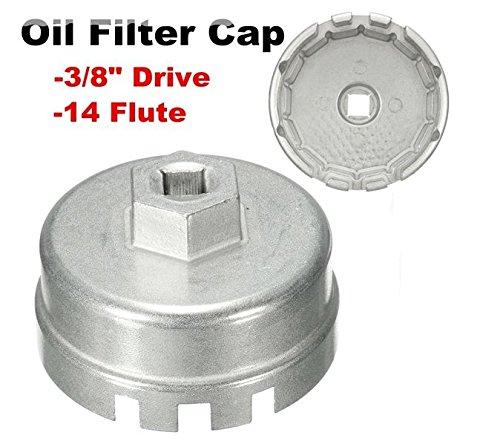 MD Group Oil Filter Cap Wrench Aluminum Tool For Toyota Prius Corolla Camry Prius Lexus