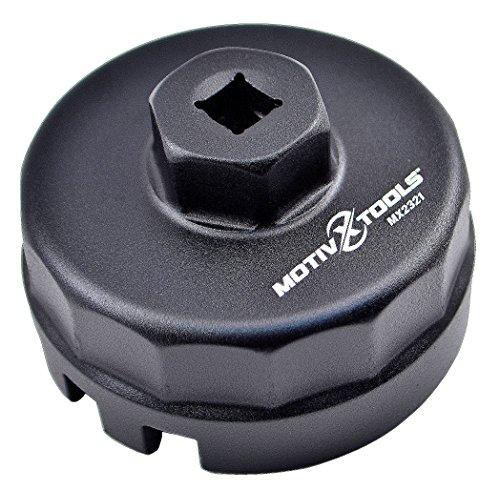 Motivx Tools Toyota Oil Filter Wrench for 18 Liter Prius Prius V Corolla Matrix Lexus CT200h Scion iM iQ xD