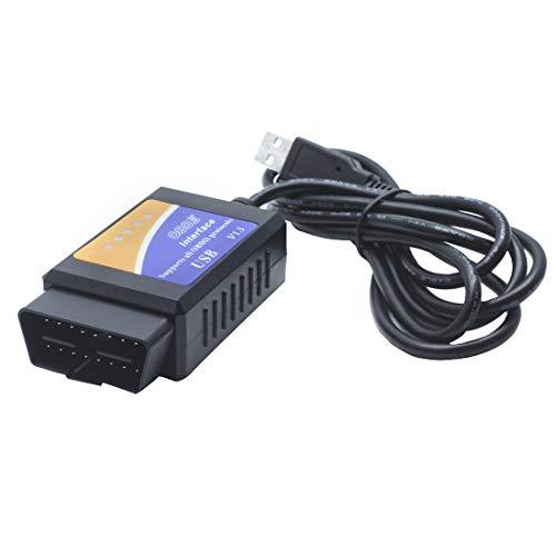 AUTUT Forscan ELM327 USB OBD2 Car Diagnostic Scanner Scan Tool for Ford Mazda