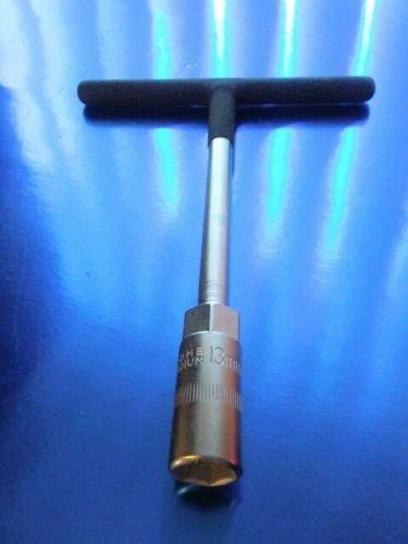14mm Mini Textured T-handle Wdeep Hex Socket Motorcycle Tool