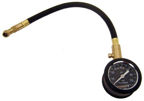 Pit Posse PP2617 Tire Pressure Gauge Motorcycle Tool