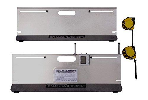 Tenhulzen Auto 3300 2-Wheel Alignment System All-in-one Tool CamberCasterToe Plates