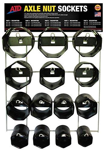 ATD Tools 14 Pc Axle Nut Socket Display