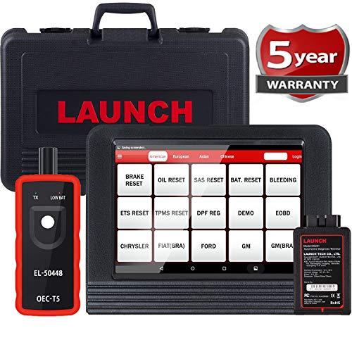 LAUNCH X431 V PRO Bi-Directional Scan Tool Full System ScannerKey ProgrammingReset Functions ABS BleedingTPMSEPBSASDPFBMSECU CodingInjector Coding Full Connector Kit- Free Update