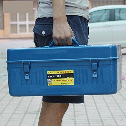 20 Thick Sheet metal Home toolbox Hardware tool storage box Car tool boxes W133
