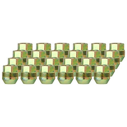 DPAccessories LOC2D8CZOGD05024 24 Dual Thread Wheel Lug Nuts M14x15 - Replaces ChevyGMC  9591772999181 Wheel Lug Nut