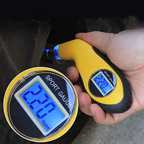 HERCHR Car Tire Pressure Gauge Digital Tire Pressure Gauge Car Bike Truck Auto Air PSI Meter Tester Tyre Gauge