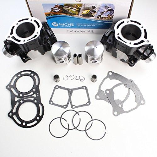 NICHE 347cc Standard Bore Cylinder Piston Gasket Kit For Yamaha Banshee 350 2GU-11311-00-00 2GU-11321-00-00