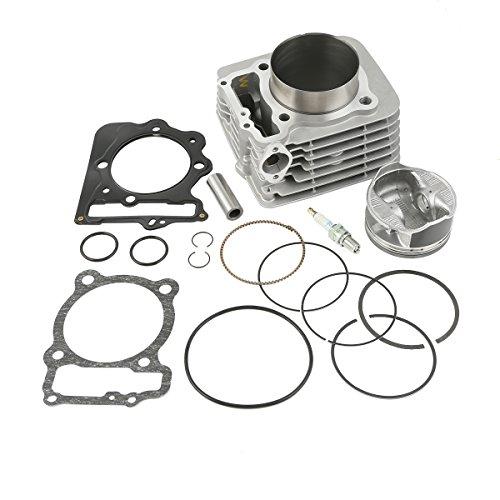 XMT-MOTO 440cc Big Bore Cylinder Piston Spark plug For Honda Sportrax TRX400EX 1999-2008Replace Part Number12100-HN1-A7012191-KCY-67213011-KCY-67090601-KA5-00013101-KCY-67013111-KCY-670etc