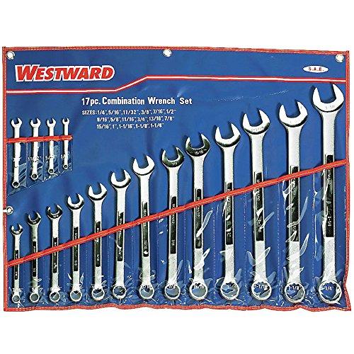 Westward 4PL92 Combo Wrench Set