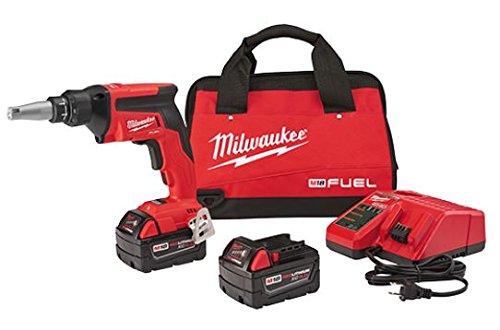 Milwaukee 2866-22 M18 FUEL Drywall Screw Gun- XC Kit with 50 Ah Batteries