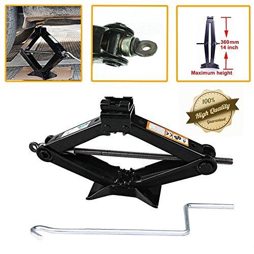 2 Tonne Scissor Lift Jack With Crank Handle Car Accessories Wheel Tire Tools Floor Jacks For Cars Van Tire Repair Tool Kits
