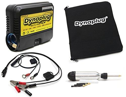 Dynaplug Ultralite Tubeless Tire Repair Tool Kit and 12volt Mini Pro Tire Pump