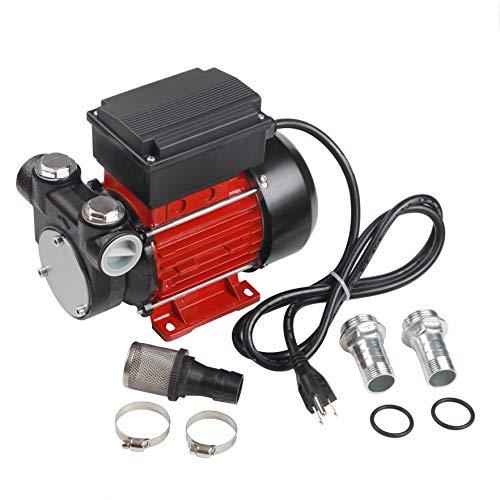 Trupow 110V AC 15GPM Electric Self-priming Diesel Kerosene Oil Fuel Transfer Extractor Pump
