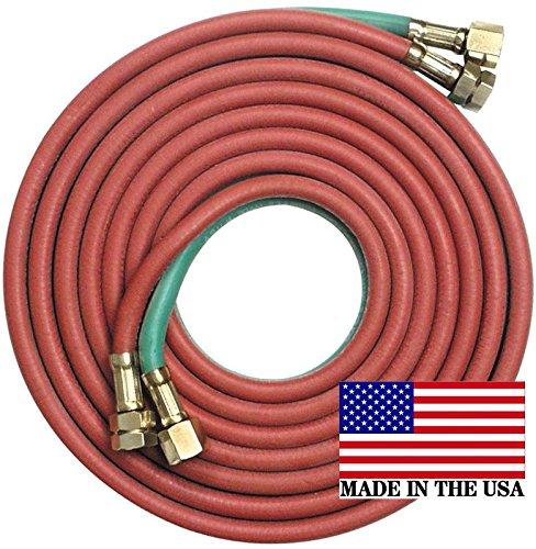 20 x 316 Twin TorchWelding Hose Oxygen Acetylene Grade R - Made in USA