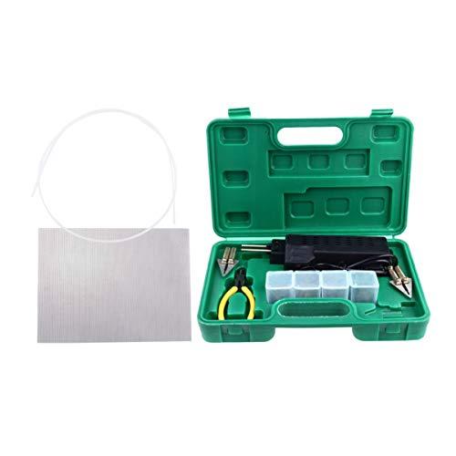ULTECHNOVO Plastic Welding Kit Plastic Hot Air Welder Heating Gun Electrodes Welding Tool for Car Repair Welding