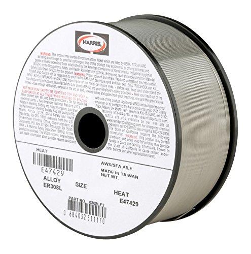 Harris 0308LE2 308L Welding Wire Stainless Steel Spool 0030 x 2 lb