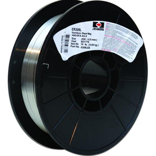 Harris 0309LE2 309L Welding Wire Stainless Steel Spool 0030 x 2 lb