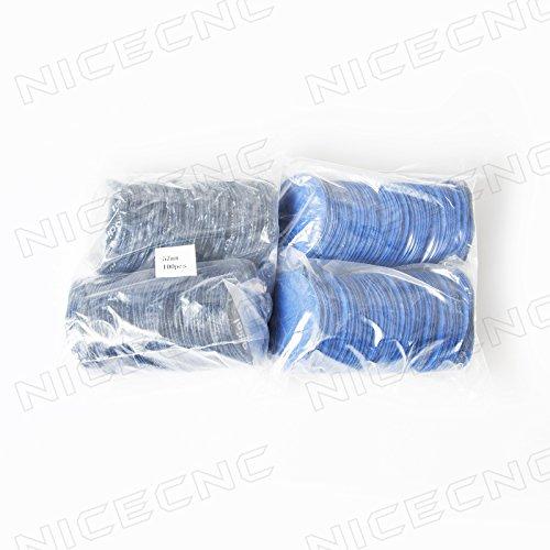 NICECNC 1000PCS Medium 2-1457mm Radial Tire Repair Round Patch