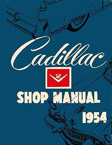 1954 Cadillac 60 62 75 Fleetwood Shop Service Repair Manual Engine Electrical