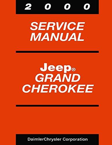 2000 Jeep Grand Cherokee Shop Service Repair Manual Book Engine Electrical OEM
