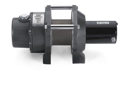 Warn 64254 DC1200 CF Industrial DC Hoist 1200 lbs727 kg 12V DC Motor Hoist Only Clockwise DC1200 CF Industrial DC Hoist