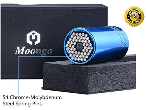Moongo 7-19MM Universal Gator Socket Grip Wrench Bushing Set