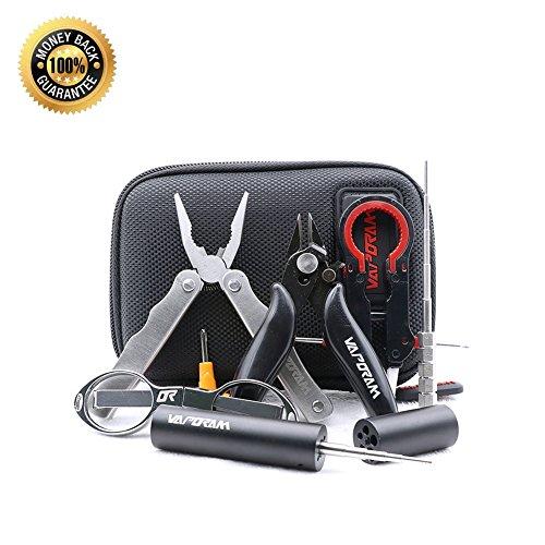 Hand Tools Kit 7-in-1JigCeramic TweezersScrewdriverFolding ScissorsPliersWrench 1