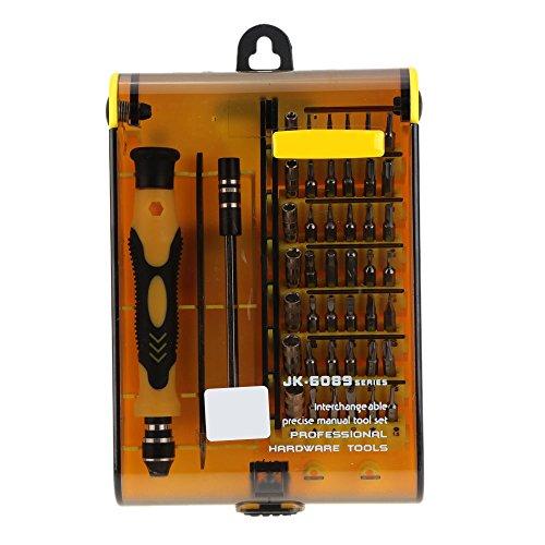 UltimaFioTM Original JK-6089A 45-in-1 Precision Screw Driver Hardware Hand Tools Kit Screwdriver Set Herramientas Ferramentas Manuais
