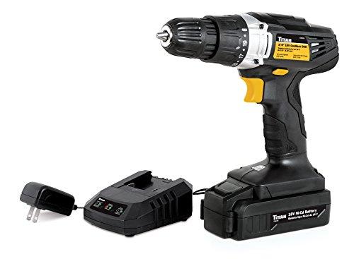 Titan Tools 55605 18V Cordless Drill