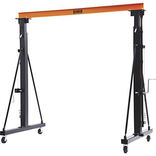 Bannon Adjustable Gantry Crane - 2000-Lb Capacity