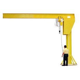 Abell-Howe Heavy Duty Floor Crane 4B0737 4000 Lb Capacity