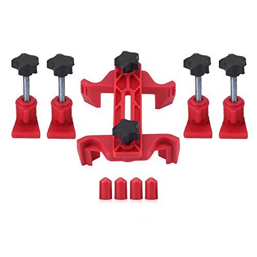 Cam Clamp Set9pcs Car Auto Dual Cam Clamp Camshaft Engine Timing Sprocket Gear Locking Tool Kit