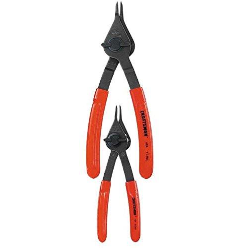 Craftsman 9-47385 Quarter-Turn Reg Convertible Retaining Ring Pliers Set 2 Piece