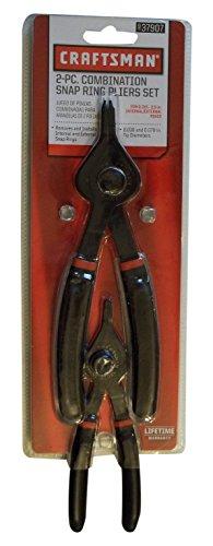 Craftsman Convertible Retaining Ring Pliers Set 2 Piece 9-37907