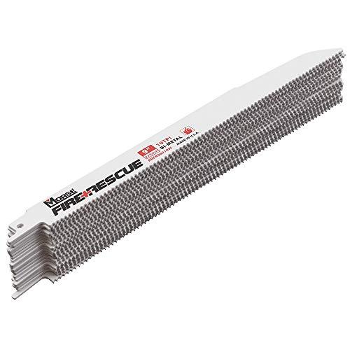20 Pack Set MK Morse Bi Metal wCobalt Reciprocating Saw Blades 10 TPI 9x78062 Steel Wood for Fire Rescue Industrial Shop
