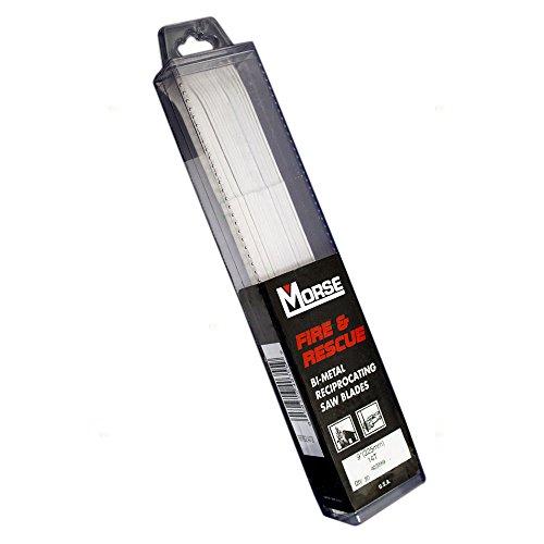 20 Pc Set MK Morse Bi Metal wCobalt Reciprocating Saw Blades 14 TPI 9x78x062 Steel Wood for Fire Rescue Industrial Shop AutoAndArt