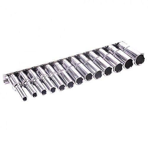 Bluespot 13 Pce 38 Metric Deep Socket Set 6-19mm