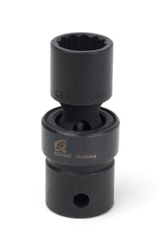Sunex 216zum 12-Inch Drive 16-mm 12-Point Universal Impact Socket