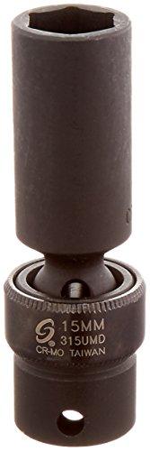 Sunex 315umd 38-Inch Drive 15-Mm Deep Universal Impact Socket
