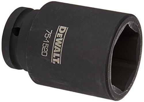DEWALT 34 Drive Impact Socket 6 PT 41MM
