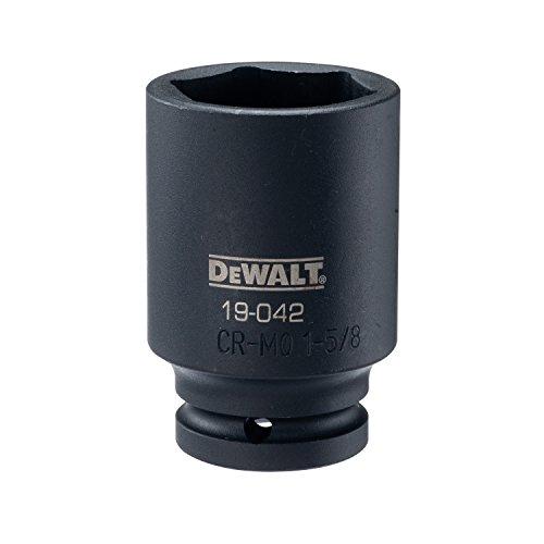 DEWALT 34 Drive Impact Socket Deep 6PT 1 58